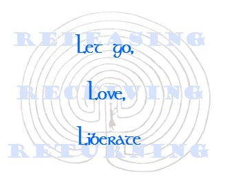 Side one of the LArgs Labyrinth card
